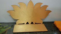 Diya stand Diwali Decorations, Festival Decorations, Diy Wedding Decorations, Wedding Columns, Wedding Stage Design, Ganesh Chaturthi Decoration, Ganpati Decoration At Home, Ganapati Decoration, Bird Template