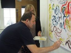 Art therapy provides people with crucial outlet for the frustrations of dementia