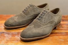 EDWARD GREEN MALVERN MOLE SUEDE  http://www.facebook.com/DressShoesandSneaker