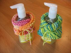 Teacher Gift Idea - Hand knit dishcloth and soap.. this would work great with the new dishcloths I just made -LD