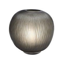 Blown glass table lamp ERBSE TABLELAMP INDIGO/SMOKEGREY 1 - Guaxs