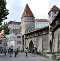 Tallinn city walls, Estonia | by Marianne53