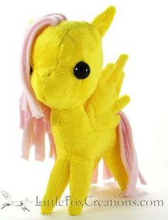 Plush Pegasus Pony  My Little Pony by LittleFoxCreationsWA on Etsy