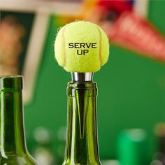 Serve Up Bottle Stopper