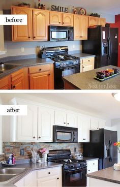 kitchen in a cabinet how to decorate a kitchen with black appliances 4957