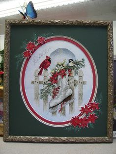 Gorgeous framing job done by Jill Rensel
