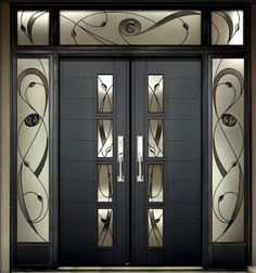 Best 30 wooden door designs for modern homes 2019 – Door Ideas Home Door Design, Wooden Main Door Design, Modern Wooden Doors, Double Door Design, Pooja Room Door Design, House Gate Design, Door Gate Design, Door Design Interior, House Front Design