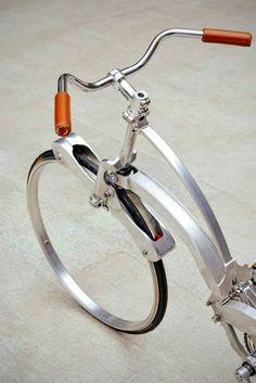 『SADA BIKE』スポークがない新発想の自転車が凄い【画像・動画】