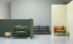 Tiki sofa & armchair. Andreas Engesvik for Fogia
