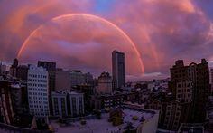Double Rainbow Delight in San Francisco