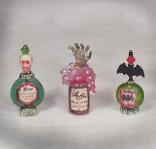 Miniature Witch Potion Goth Haunted Doll House Halloween OOAK For Barbie PASSION