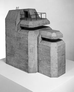 This Brutal House ( Underground Bunker, Tower Defense, Wargaming Terrain, Modelos 3d, Military Diorama, Fortification, Military Weapons, Brutalist, Tabletop
