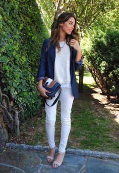 Me parece interesante este look: sencillo y elegante.