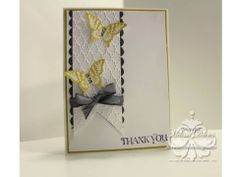 Gorgeous butterfly card!
