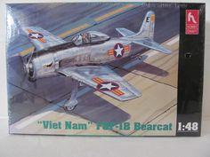 aircraft MODEL Kit: VIETNAM F85-1B Bearcat by Hobby Craft by CellarDeals on Etsy
