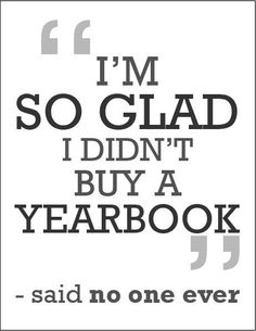 the chs mirror : Why Should Every Student Purchase a Yearbook?