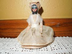 1940 Black Americana Dinner Bell Aunt Jemima by CleaninHouse
