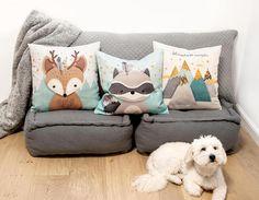 Woodland nursery pillow, Nursery Cushion Covers, Throw pillow set of Forest Animal pillow, Deer p Forest Animals, Woodland Animals, Cushion Covers, Pillow Covers, Throw Pillow Sets, Throw Pillows, Deer Pillow, Pillow Mat, Woodland Nursery Prints