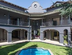 This juction home in has marble flooring throughout its 1 Real Estate Business, Online Business, Internet Marketing Company, 5 Bedroom House, Hyde Park, Luxury Homes, South Africa, Marble, Flooring