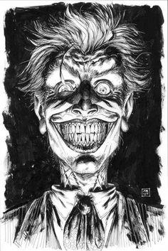 The Joker by Tony Moore Comic Art Der Joker, Joker Dc, Joker And Harley Quinn, Joker Comic, Comic Book Characters, Comic Character, Comic Books Art, Comic Art, Im Batman