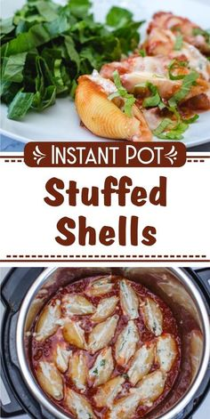 Instant Pot Stuffed Shells #dinner #pasta #cheesy #instantpot #recipe #corriecooks Slow Cooker, Best Pressure Cooker Recipes, Instant Pot Pressure Cooker, Pressure Cooking, Instant Pot Pasta Recipe, Best Instant Pot Recipe, Instant Pot Dinner Recipes, Recipes Dinner, Easy Stuffed Shells