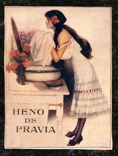 Cárteles antiguos de publicidad- Heno de Pravia