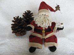 Santa Doll  Ho Ho by MROriginals on Etsy, $23.99