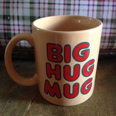 Big Hug Mug Vintage FTD True Detective Matthew McConaughey Ashtray Cup TV