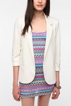 Silence & Noise Boyfriend Blazer -- UO -- I don't know why but I think blazers are so cool! (: