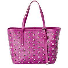 Sasha star studded tote - Pink & Purple Jimmy Choo London lbG2TxsV