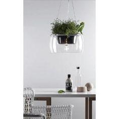 aranżacja wnętrz - Wykorzystano oprawę PLANT /oświetlenie kuchni/