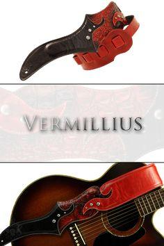 Vermillius guitar strap