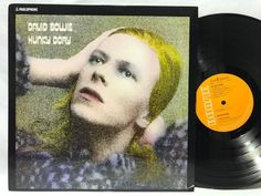 David Bowie Hunky Dory LP #Vinyl Record Re-issue Parlophone/ Warner