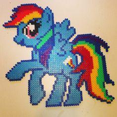 perler rainbow dash