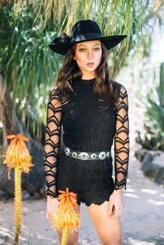 lace playsuit from Lenni the Label