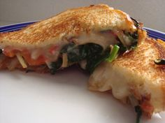 Spinach Grilled Cheese Sandwich