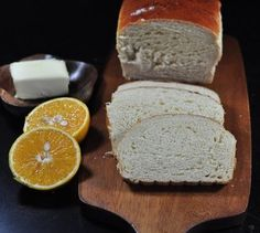 Cream of Orange Bread. The sunny flavor of orange shines through with every slice of this wonderful bread.