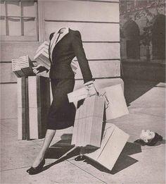 Photo by Grete Stern Grete Stern, Photomontage, Laurent Durieux, Herbert Matter, Collages, Collage Artists, Weird Vintage, Vintage Stuff, Shop Till You Drop