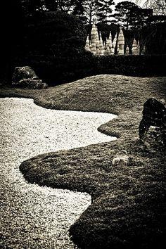 Japanese #garden in Kyoto
