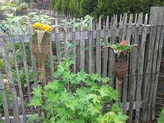 flechten mit weiden im garten   Weide ist ideal um im Garten und rund ums Haus zu Gestalten. Hier ein ...