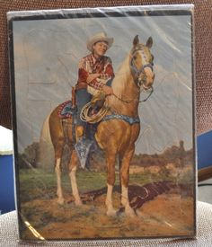 Roy Rogers 1950 Puzzle