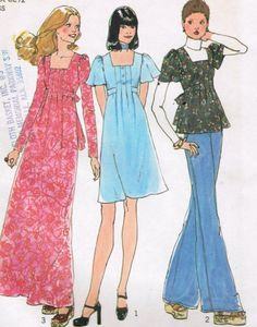 1970s Simplicity 7089 UNCUT Vintage Sewing by midvalecottage, $8.00