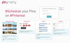 #Schedule your Pins  on #Pinterest