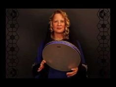 Rowan Storm ~ Lesson 1 ~ Thinline Frame Drum ~ Partner Hand Symmetrical Method ~ (2 of 4)