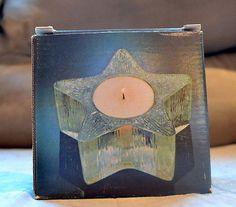 Avon Starbright Candleholder 1980's Vintage