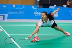 """Congratulations to Markham's own Michelle Li, who took home the gold medal yesterday in Women's Badminton! Women's Badminton, Tennis Racket, Toronto, Canada, Games, Health, Fitness, Sports, People"