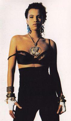 Neneh Cherry - Raw Like Sushi (1989)  | ph: Jean-Baptiste Mondino | Styled: Judy Blame