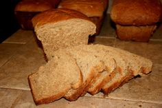 Soaked whole grain bread- supposed to be easier to digest, improved taste, texture and helps you absorb more nutrients from the grain... worth a try:)