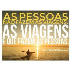 Verdade  #travellingwithtania #fridayfeeling #travelquote...  Instagram travelquote