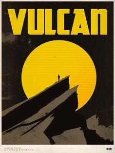 Vulcan /Movie-themed Travel Posters | ShortList Magazine